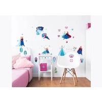 Muursticker Frozen Walltastic 53 stickers