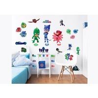 Muursticker PJ Masks Walltastic: 33 stickers