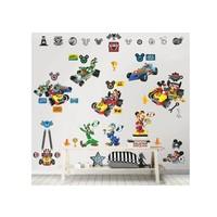 Muursticker Mickey Mouse Walltastic 74 stickers