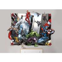 Behang Avengers 3d Walltastic: 122x152x15 cm