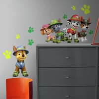 Muursticker Paw Patrol RoomMates: Jungle