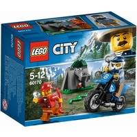 Off-road achtervolging Lego