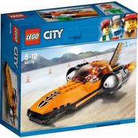 Snelheidsrecord auto Lego