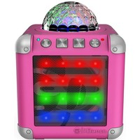 Portable Disco Speaker iDance Mini Cube 3 CM-3 roze