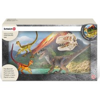 Velociraptor jagend Schleich 42259