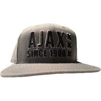 Cap ajax senior grijs/zwart panel