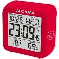 Wekker ajax bal rood LCD