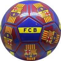 Bal barcelona leer groot blauw all-over