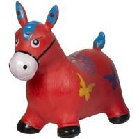Skippy paard rood Eddy Toys 49x43x28 cm