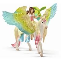 Elf Surah met glitter Pegasus Schleich 70566