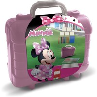 Schrijfset koffer Minnie Mouse: 81-delig