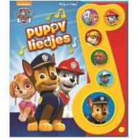 Geluidenboek Paw Patrol: Puppyliedjes