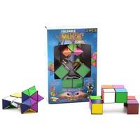 Magische kubus vouwbaar JohnToy: set van 2