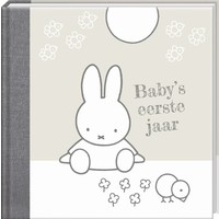 Boek Baby eerste jaar Nijntje zilver