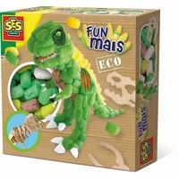 Funmais SES: Dino met houten skellet