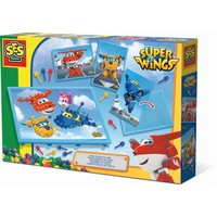 Mozaiekbord SES: Super Wings kaart