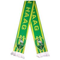 Sjaal ado geel/groen streep