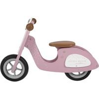 Loopscooter Little Dutch: roze