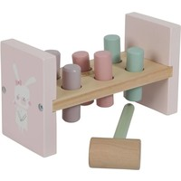 Hamerbankje Little Dutch: pink