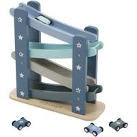 Autobaan hout Little Dutch: blauw