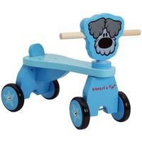 Vierwieler hout Woezel en Pip: blauw