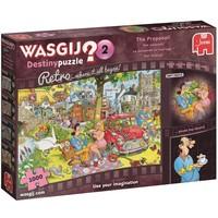 Puzzel Wasgij Retro Destiny 02: 1000 stukjes