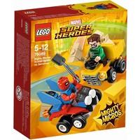 Mighty Micros: Spider-Man vs Sandman Lego
