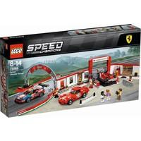 Ultieme Ferrari Garage Lego
