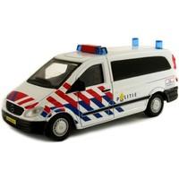 Auto Bburago Mercedes Vito politie schaal 1:50