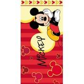 Badlaken Mickey Mouse lines 70x140 cm