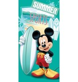 Mickey Mouse Badlaken Mickey Mouse surf 70x140 cm