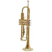 Trompet Purcell gelakt met monel ventiel