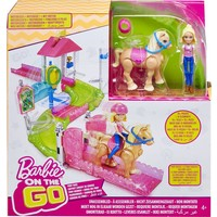 Mini pop Barbie On the Go: pony/pop speelset