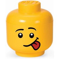 Opbergbox Lego: head boy silly large