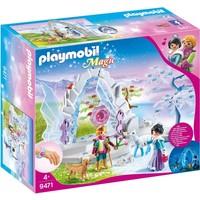 Kristallen poort naar Winterland Playmobil