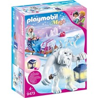 Ahaka met slee Playmobil