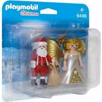 DuoPack Kerstman en Kerstengel Playmobil