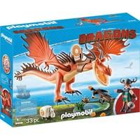 Snotvlerk en Haaktand Playmobil