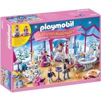 Adventskalender Kerstfeest in salon Playmobil