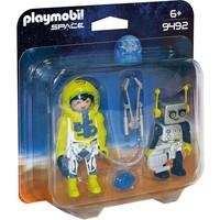 DuoPack astronaut en robot Playmobil