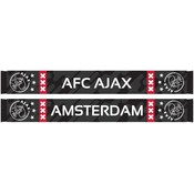 Sjaal ajax zwart/grijs camo 18x140