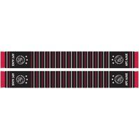 Sjaal ajax zwart gestreept 18x140
