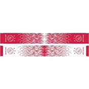 Sjaal ajax rood/wit grunge 18x140
