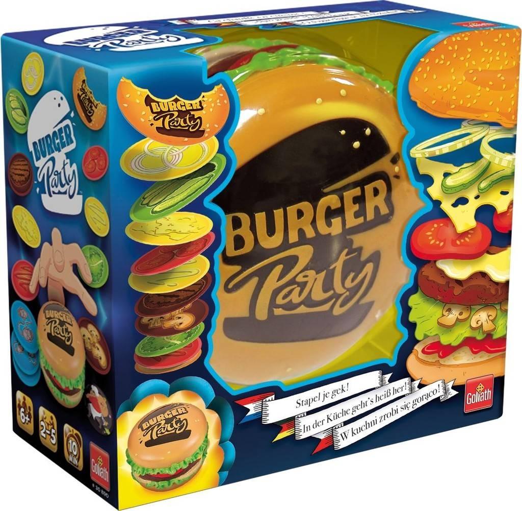 Burger Party - Snel kaartspel - Goliath