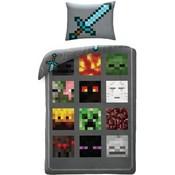 Dekbedovertrek Minecraft 140x200/70x90