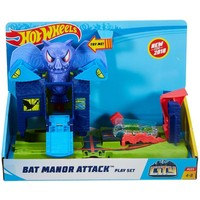Bat Manor Attack speelset Hotwheels