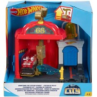 Fire Station Spinout speelset Hotwheels