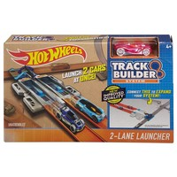 Track Builder 2-Lane Launcher Hotwheels
