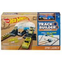 Track Builder Spin Launch Hotwheels