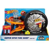 Super Spin Tire Shop speelset Hotwheels
